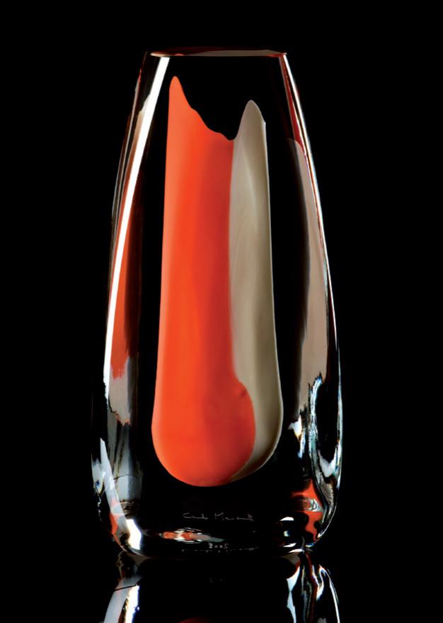 PLEXUS Cristal Murano -Escultura numerada.1/333 -Altura: 220mm Diseño : Giovanni Moretti