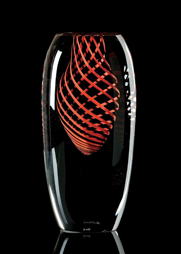 MOLES Cristal Murano -Escultura Numerada 1/333 -Altura: 190mm Diseño: Carlo Moretti