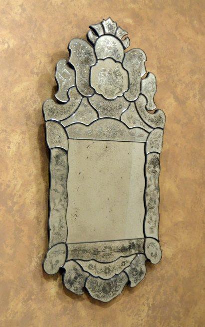 Espejo Veneciano CRISTAL DE MURANO