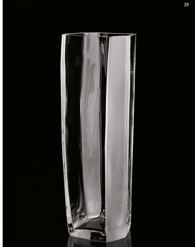 TORRE Altura: 410 mm Diametro: 165 mm CRISTAL MURANO Diseño: Carlo Moretti