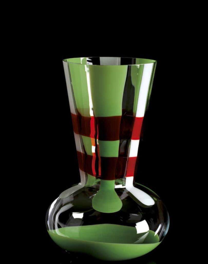 TRONCOSFERA 1799 IT Edicion Numerada 1/111 Altura: 410mm Diámetro:270mm Posibilidad tres tamaños CRISTAL MURANO Diseño: Carlo Moretti