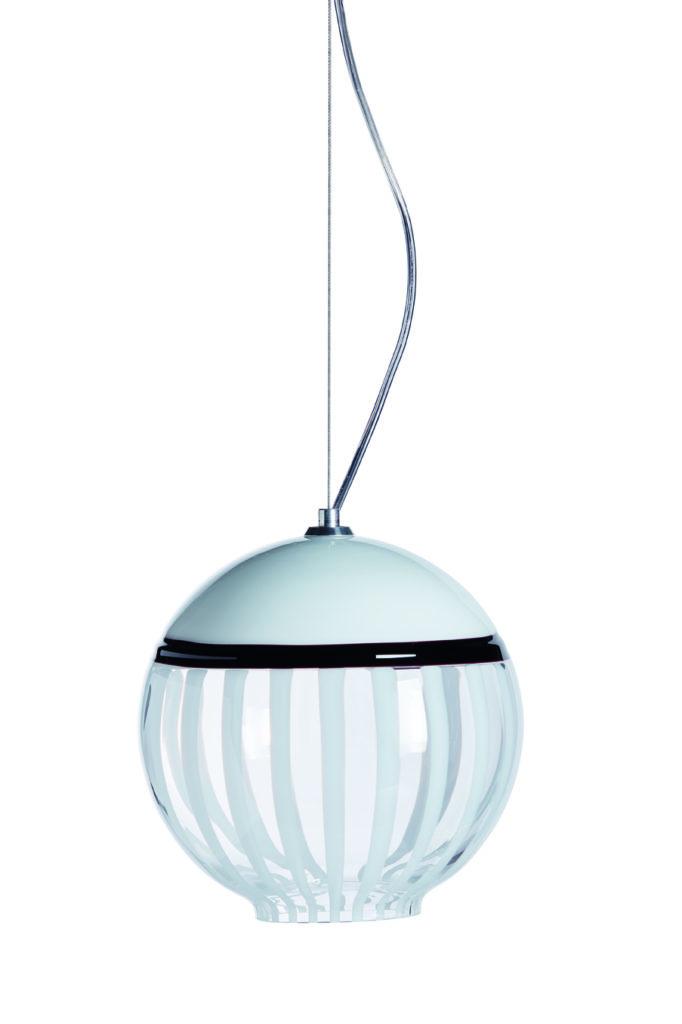 BOBLU 180 C Lámpara Suspensión Altura:180 mm Diametro: 180 mm CRISTAL MURANO Diseño: Carlo Moretti