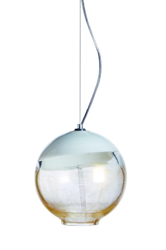 BOBLU 180 E Lámpara Suspensión Altura:100 mm Diámetro:100 mm Altura:140 mm Diámetro: 140 mm Altura:180 mm Diametro: 180 mm CRISTAL MURANO Diseño: Carlo Moretti