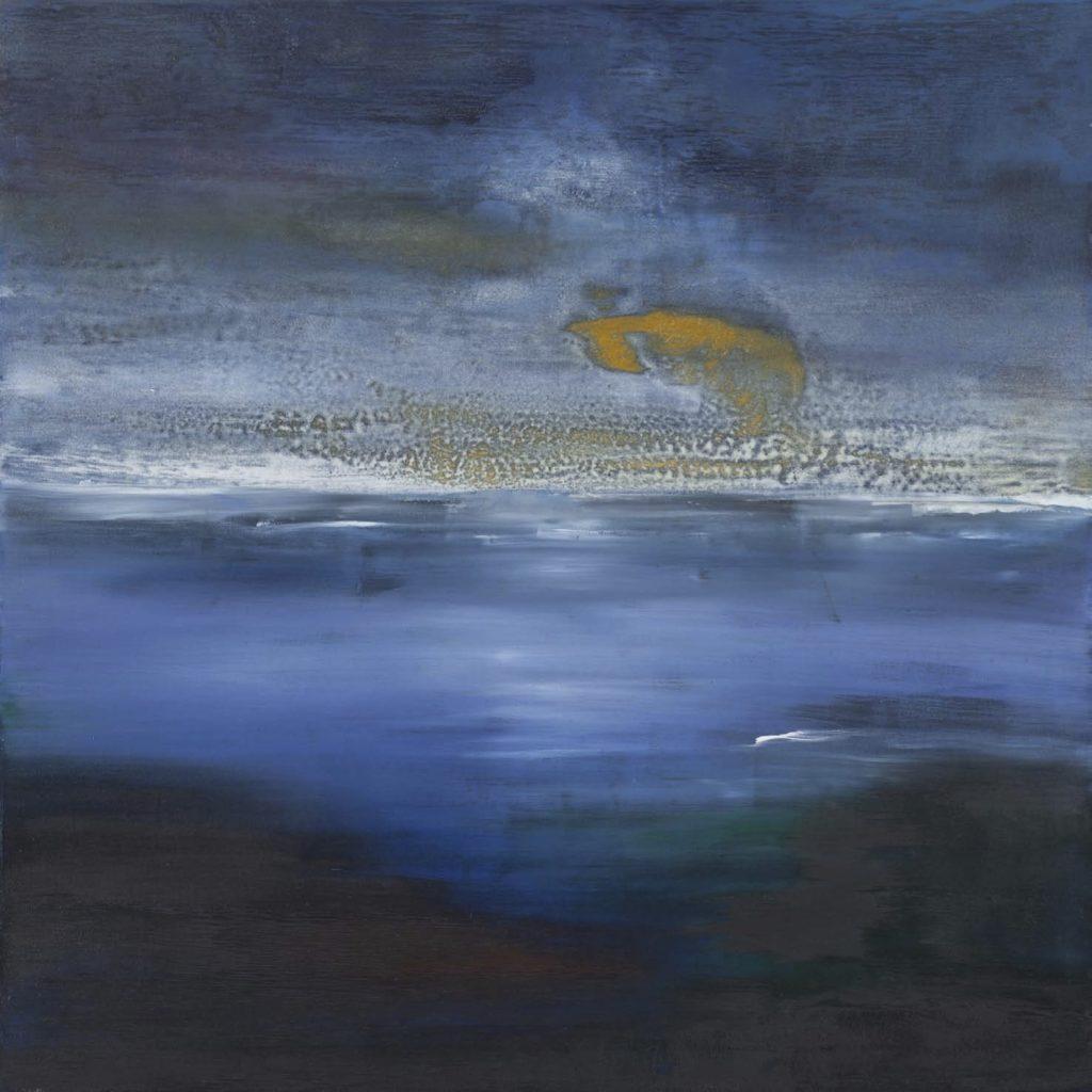 Mare tramonto II. 2012 acrílico/lienzo: 100 x 100 cm
