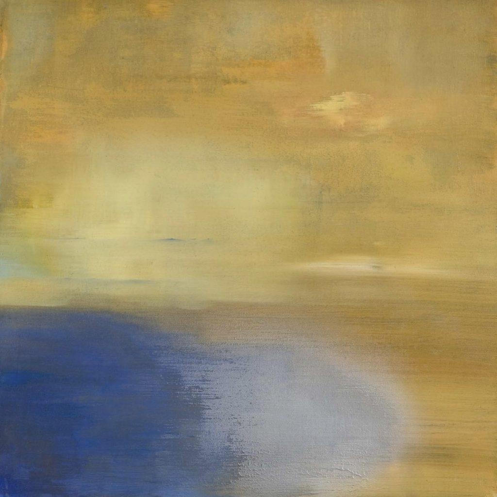 Nebbia gialla. 2008 técnica mixta / tela: 60 x 60 cm