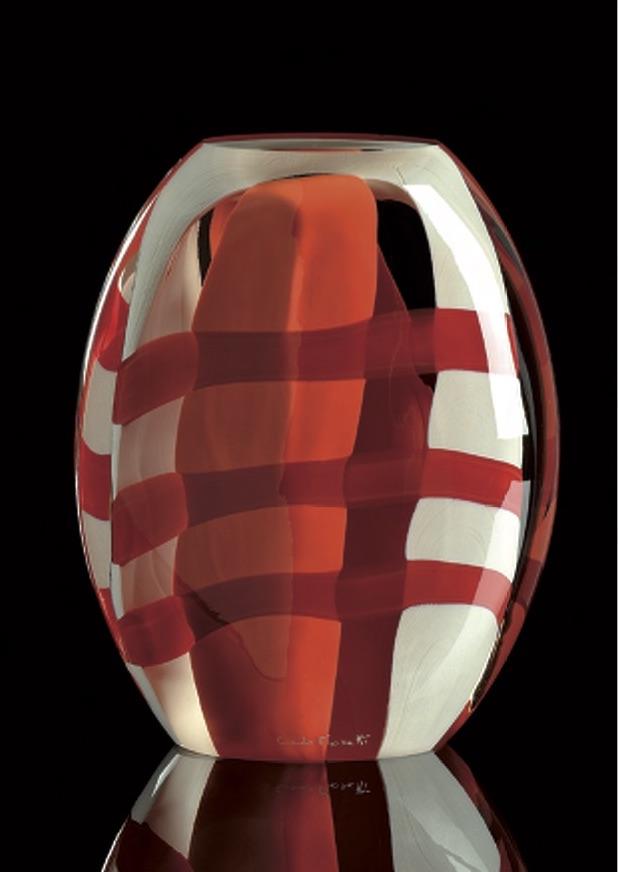 NEXUS Cristal Murano -Escultura numerada 1/333 -Altura: 190mm Diseño: Giovanni Moretti