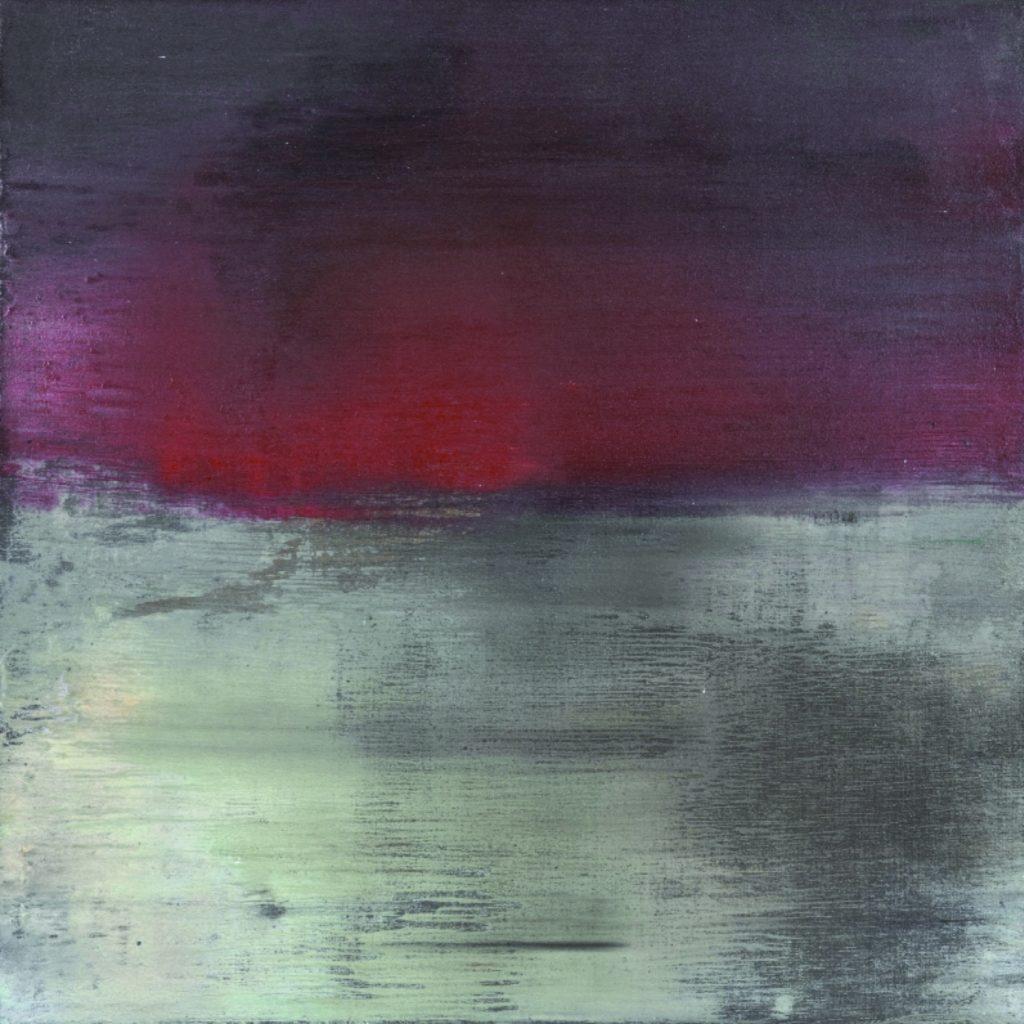 Notte d'estate. 2008 técnica mixta/lienzo: 50 x 50 cm