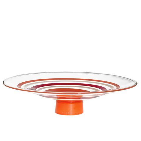 VOLA.PA Altura: 90 mm Diámetro: 385 mm CRISTAL MURANO Diseño: Carlo Moretti Edición Numerada