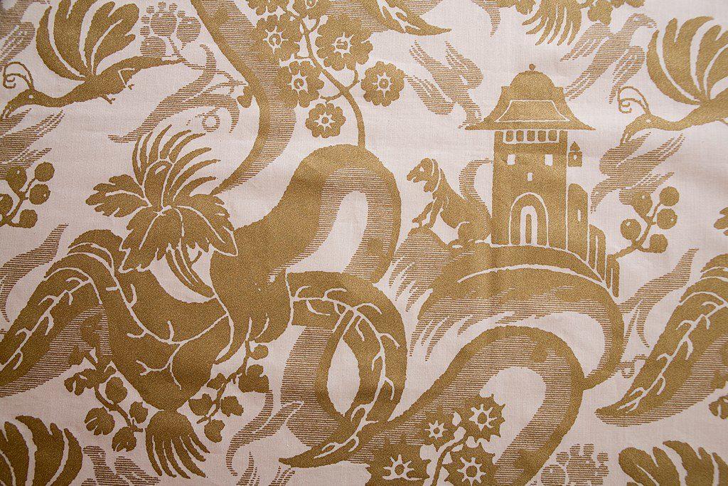 CHINOISERIE Natrual Gold 100% algodón egipcio