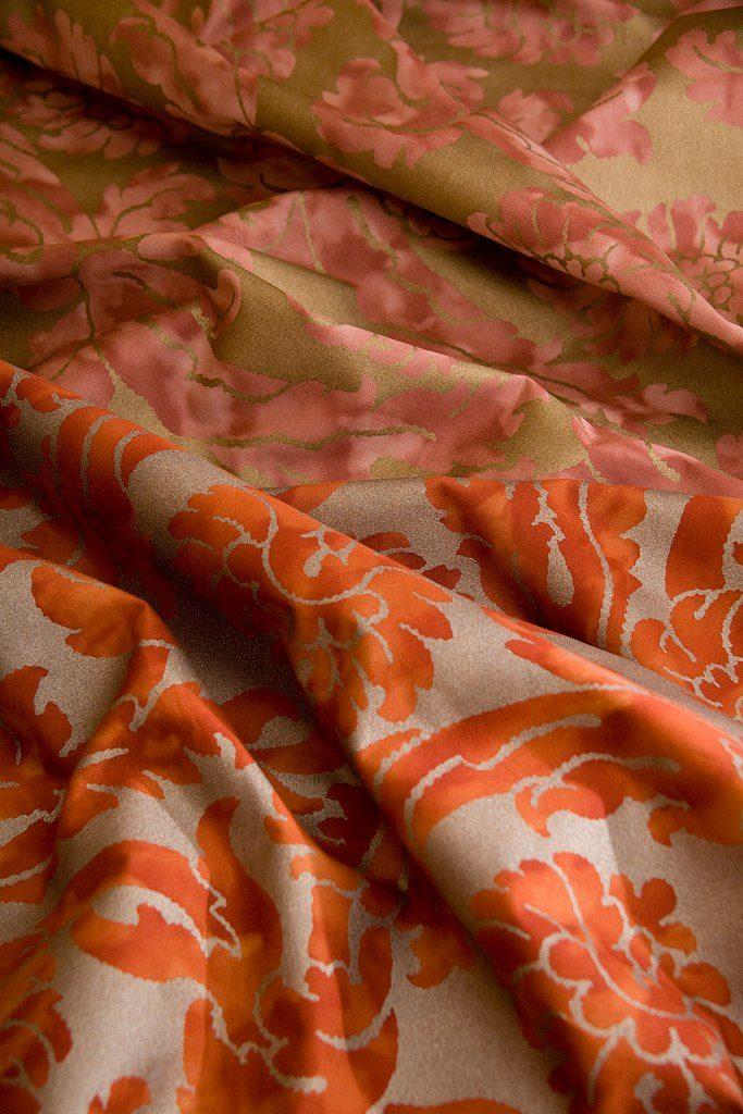 GIROFLEE Rossa Antico Gold Rosso vermiglione silver 100% algodón egipcio