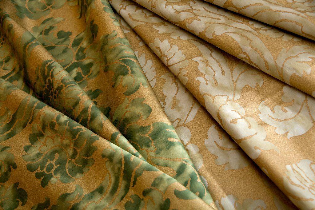 GIROFLEE Tiglio di maggio Gold Verde Salvia Gold 100% algodón egipcio