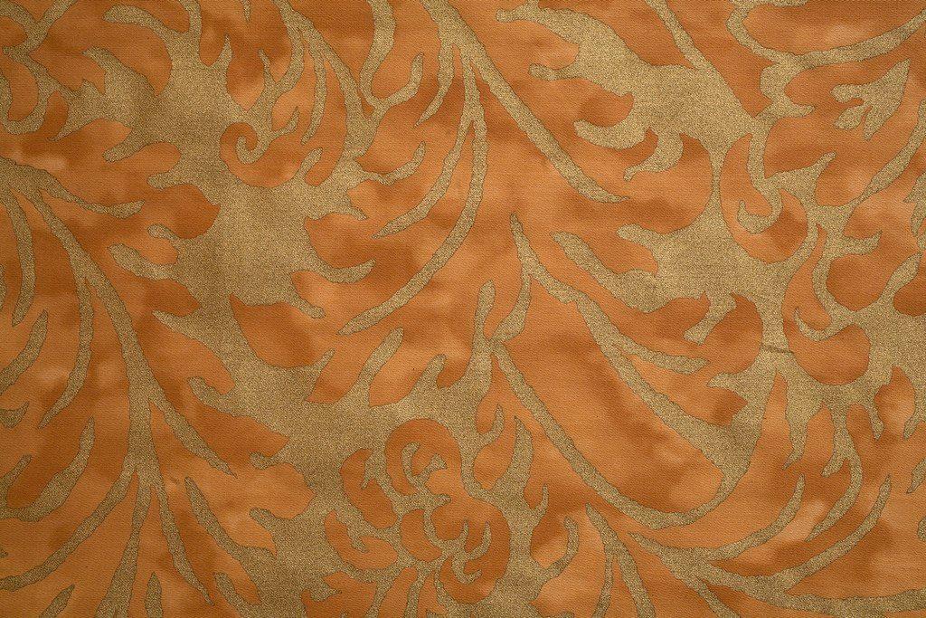 HAMPTON COURT Zafferano Gold 100% algodón egipcio